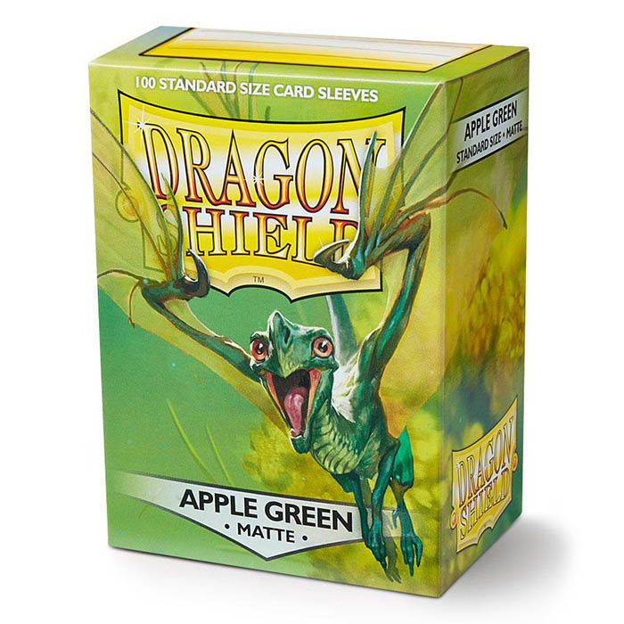Fundas - Dragon Shield - Apple Green Matte 100