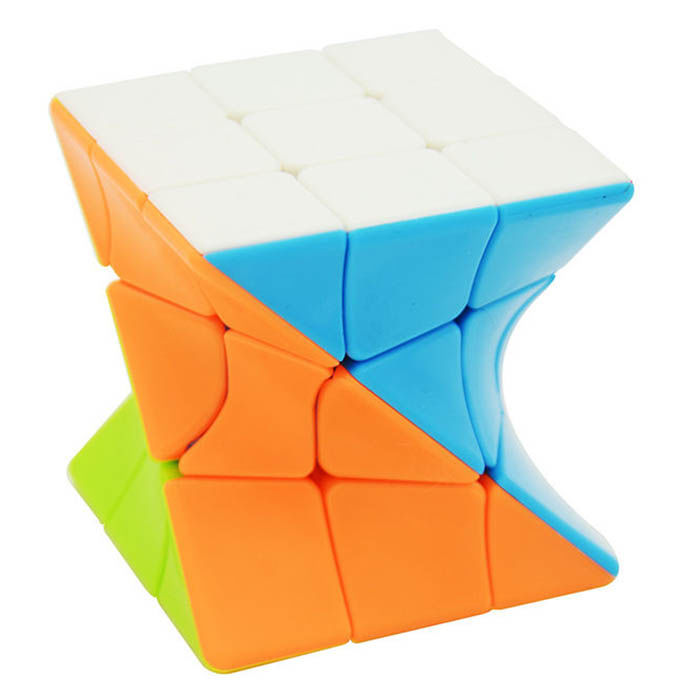Cubo Magico - 3x3 Twisted Stickerless