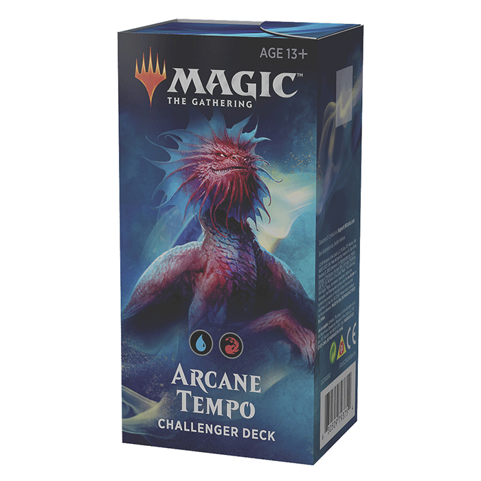Challenger Deck - Magic - Arcane Tempo (Blue / Red)