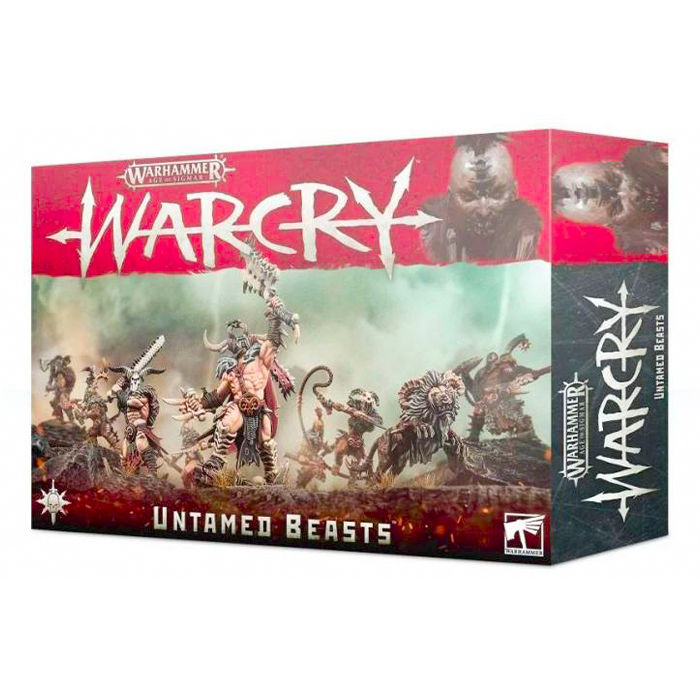 Warhammer Age of Sigmar - Warcry - Untamed Beasts