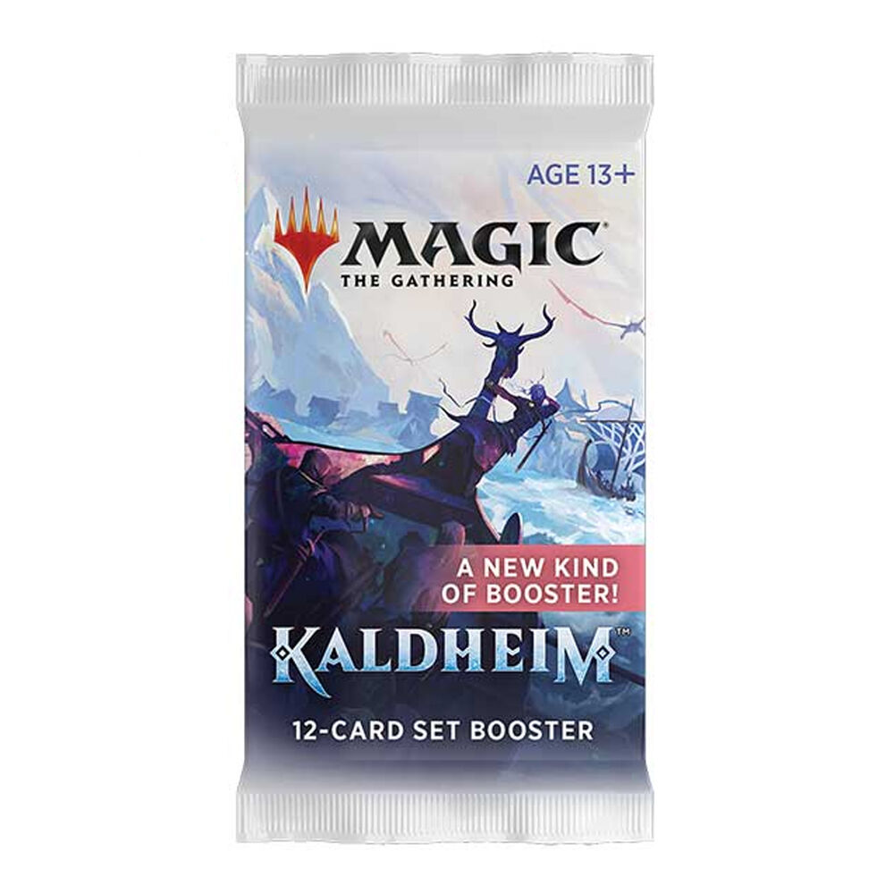 Sobre - Magic - Set Booster Kaldheim (Inglés)