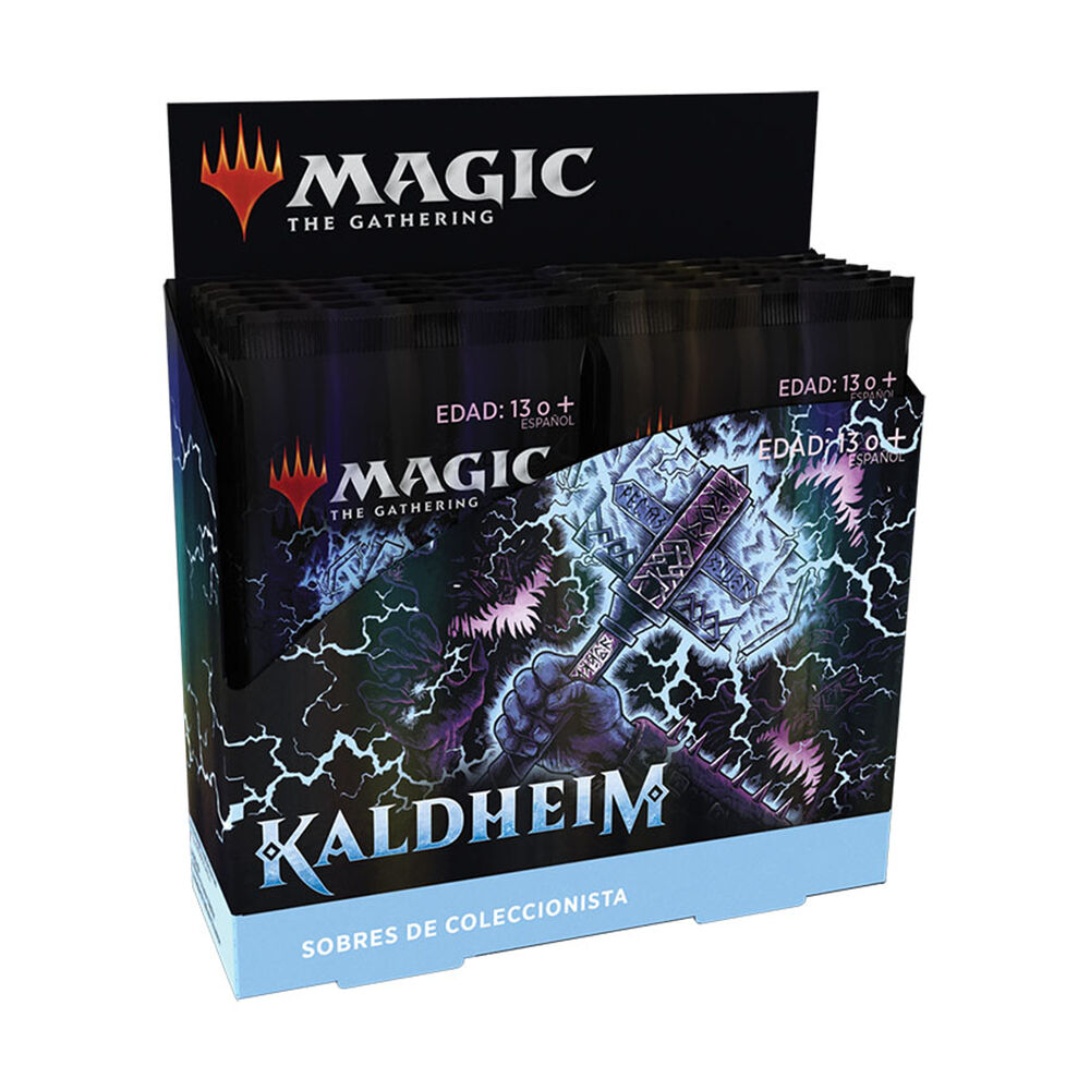 Caja de sobres Collector Booster- Magic - Kaldheim (12 Packs) (Español)