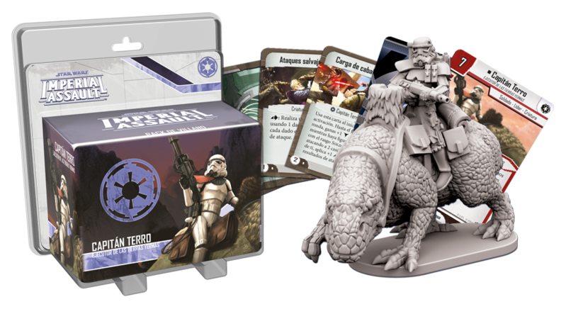 Star Wars - Imperial Assault - Capitán Terro