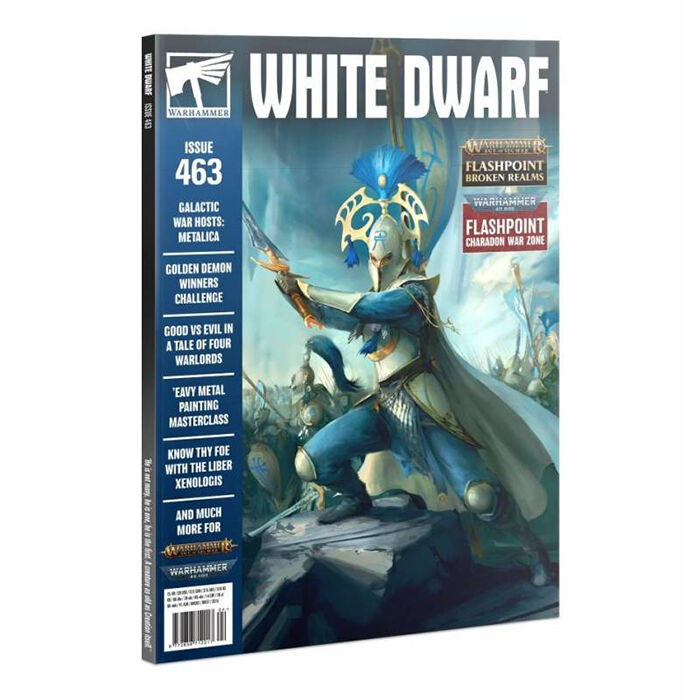 Revista White Dwarf Abril 2021 Inglés